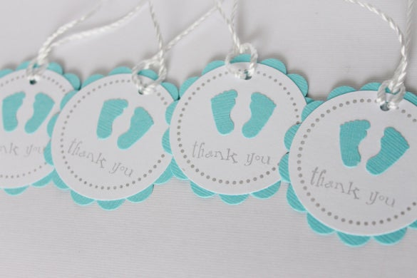 free printable baby shower favor tags template - 26 favor tag templates free sample example format