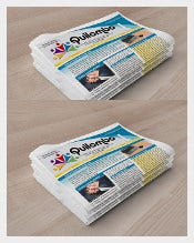 Amazing News Paper Sample Template Free