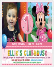 Birthday Party with Minni Mouse