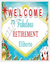 Fabulous Retirement Invitation
