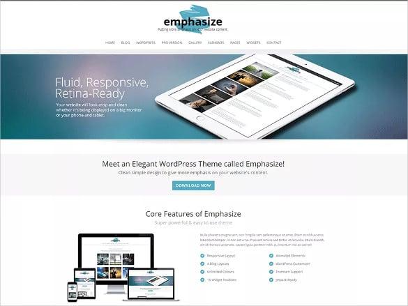 flexible responsive multi purpose wordpress theme