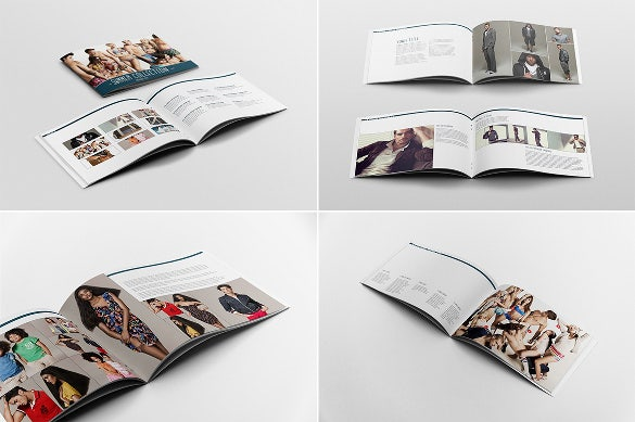 catalogue portfolio template