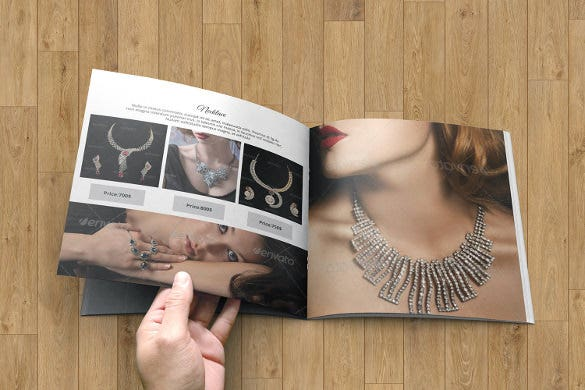 jewellery catalog template