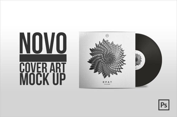 novo mock up psd format cdf cover