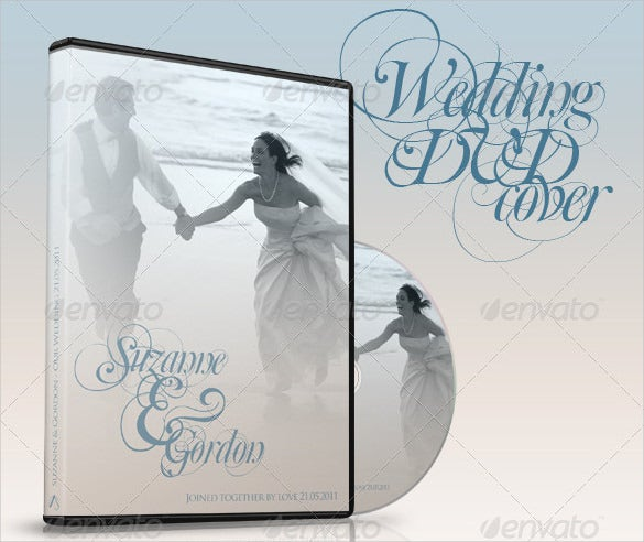 wedding dvd cd covers psd download
