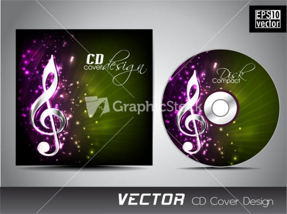 cd cover design for your business download