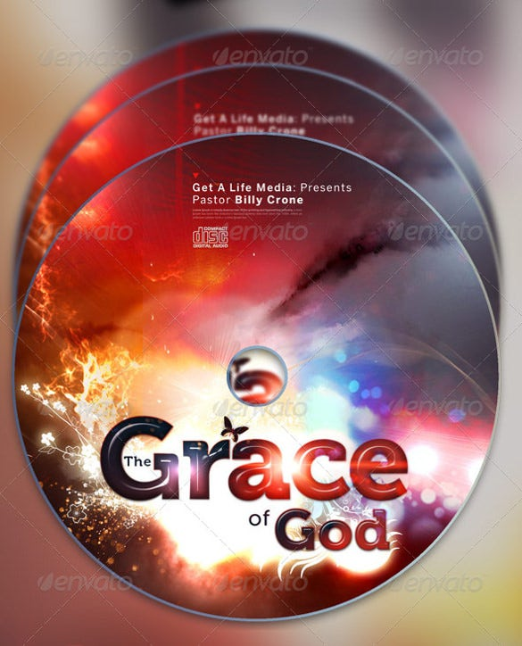 the grace of god full page flyer and cd cover download