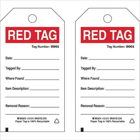 18+ Inventory Tag Templates – Free Sample, Example Format Download ...