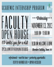 PSD Faculty OpenHouse Invitation