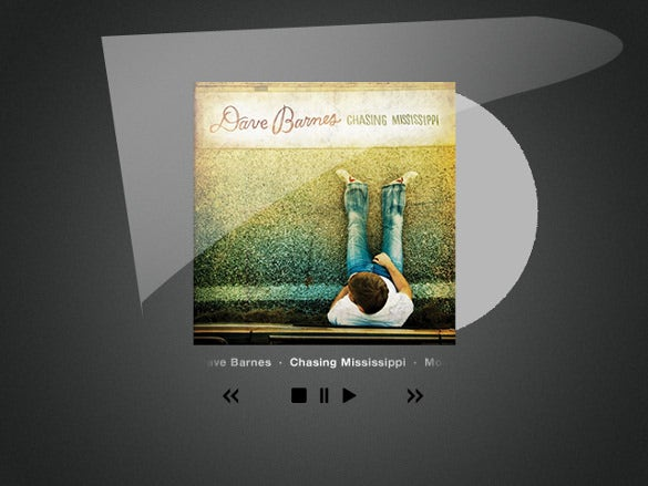 cd cover art and player free psd download