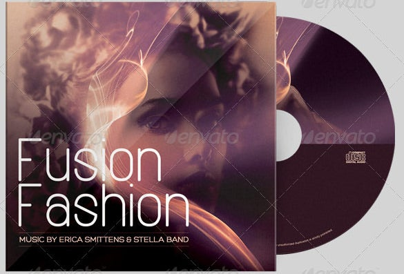 fusion fashion cd artwork template psd download