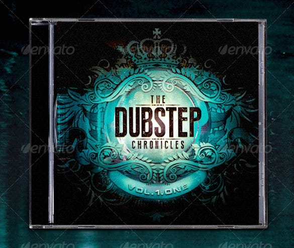 the dubstep chronicles cd cover template
