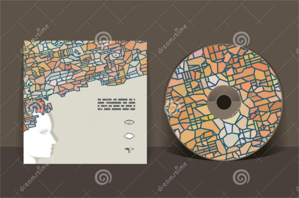 root map cd cover design template