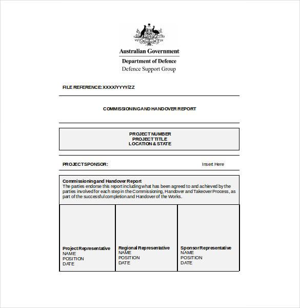 Sample resume handover notes template - Advice resume