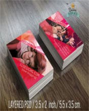 Business Card Template Business Card Design Photoshop Template