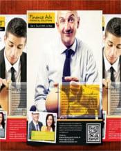 Business Financial Advisor Flyer