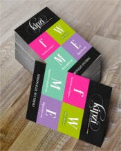 Print at Home Business Card template