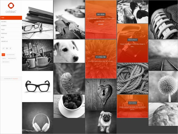 creative photography agency portfolio wp theme