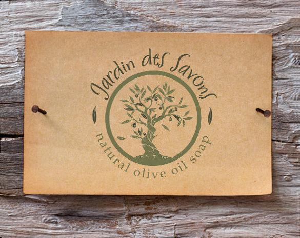 custom tree logo template download