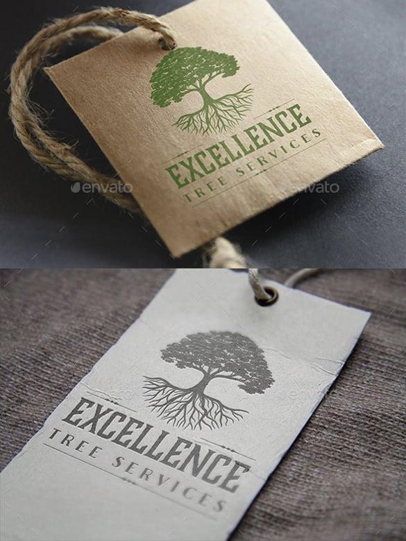 oak tree logo ai illustrator download