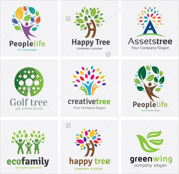 Creative Family Tree Template Photo Wall Collage Without Frames 17