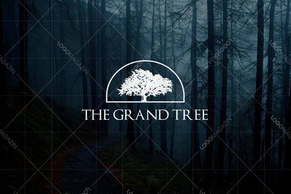 grand tree logo template