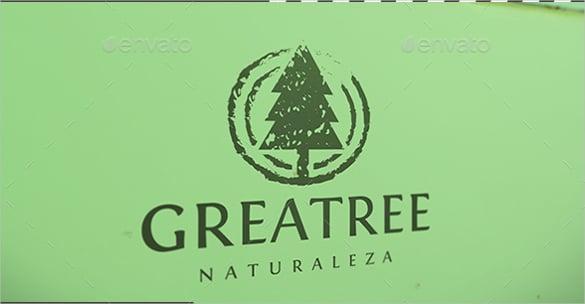 grunge tree logo eps download