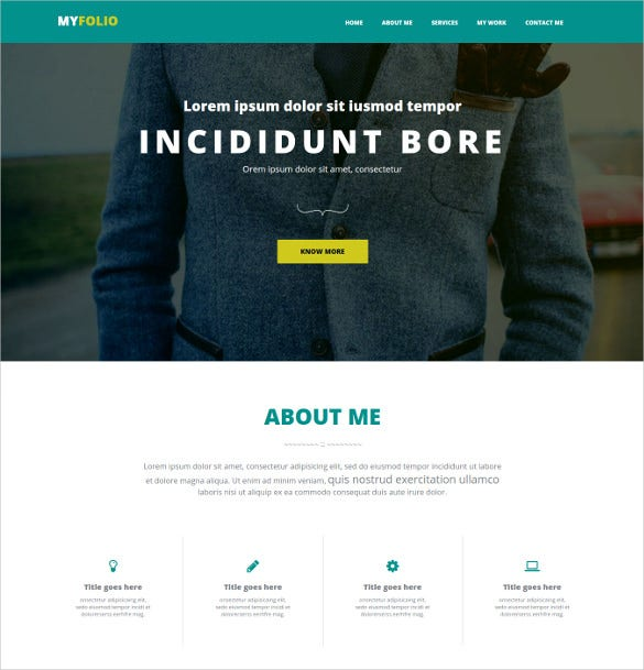 31 bootstrap gallery themes templates free premium templates for Bootstrap portfolio templates free