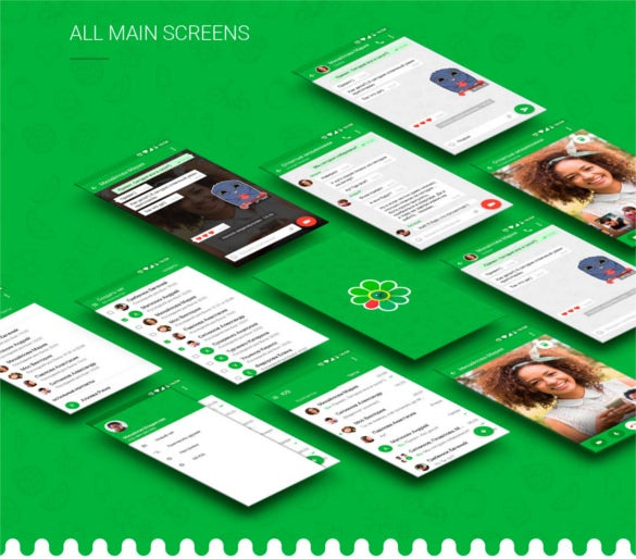 41 android app designs with beautiful interface free for App design online