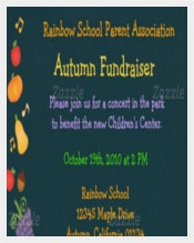 Autumn FUNDRAISING INVITATION