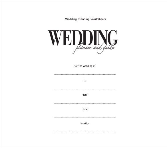 wedding itinerary template 40 free word pdf documents download