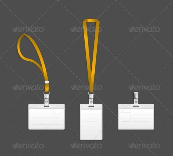 lanyard name printable tag template