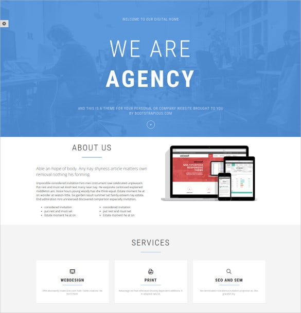 31+ Bootstrap Gallery Themes & Templates | Free & Premium Templates
