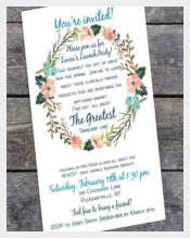 Greatest Business Invitation Template