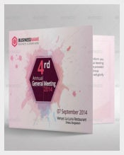 Annual Business meeting Invitation Templates
