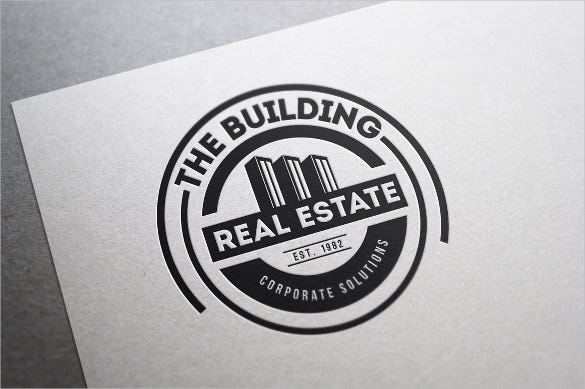 real estate and business logo