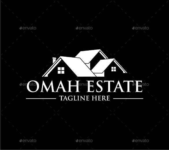 real estate logo template vector eps download