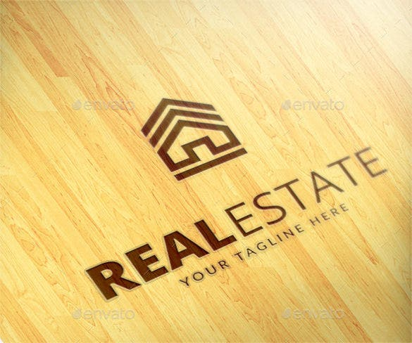 real estate logo ai illustrator format