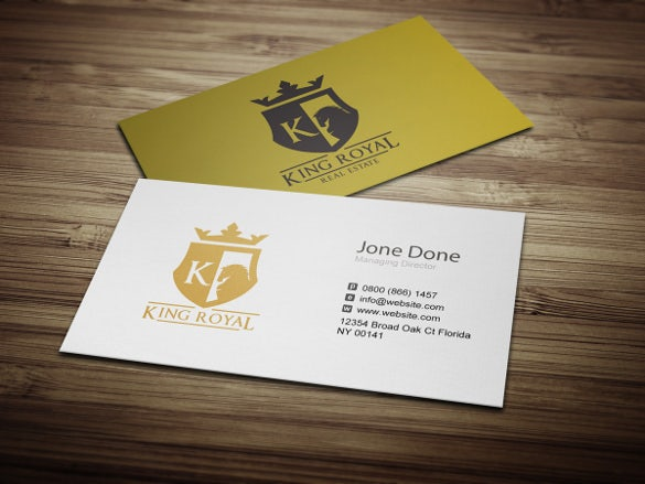 real estate logos for business cards