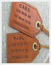 Create Your Own Personalized Luggage Tags