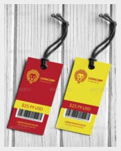 Lioncorp Series Hang Tags Template