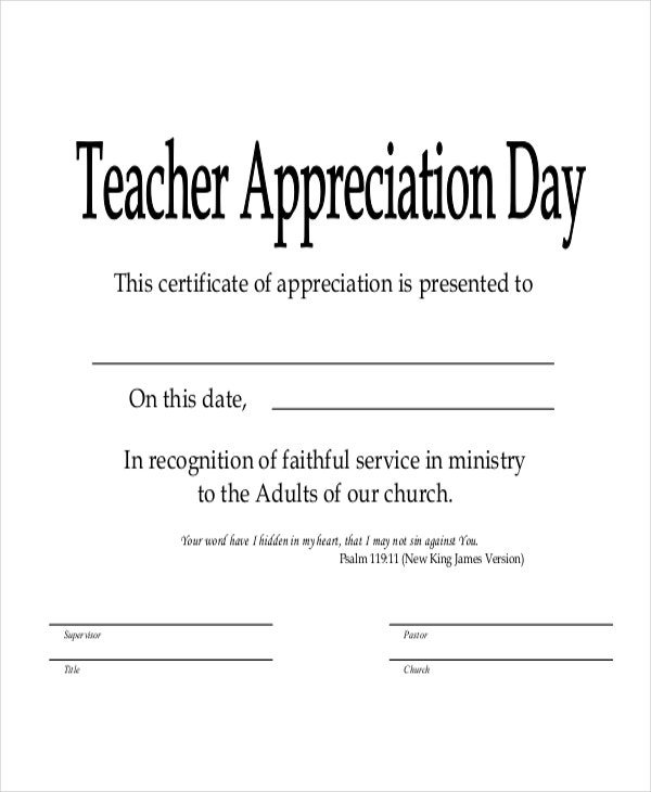 Sunday school certificate template 5 free word excel pdf sunday school teacher certificate template yelopaper Image collections