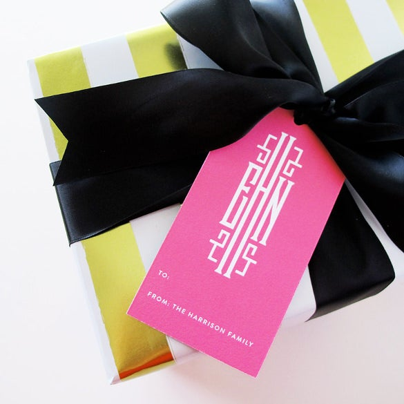 set of 24 personalized gift tag template download