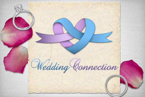 wedding logo collection template download