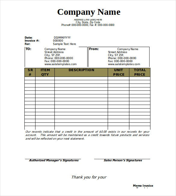It Invoice Template Adobe Pdf Pdf And Microsoft Word Doc Free