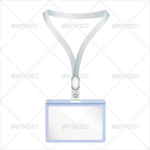 name tag illustration with vector eps format