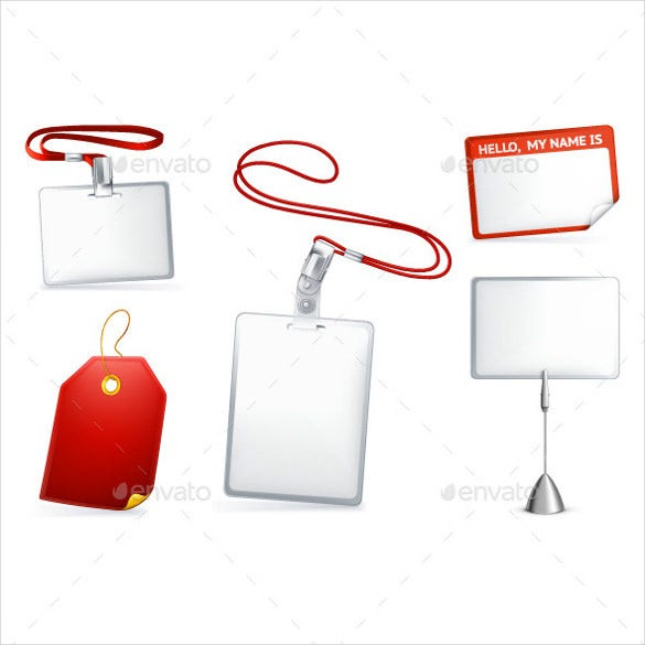 empty tags name tag illustration with vector eps format