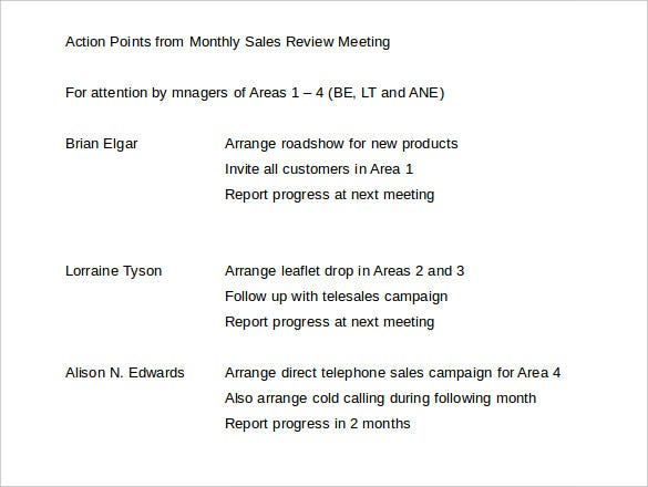 21+ Monthly Sales Report Templates – Free Sample, Example Format ...