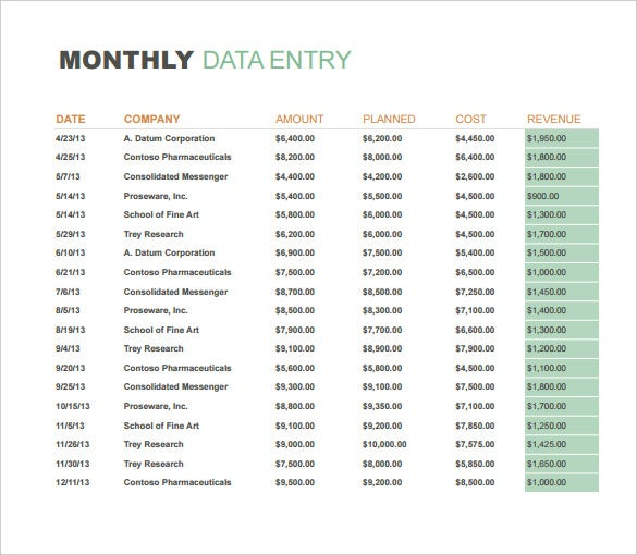 Monthly Sales Report Templates  Free Sample Example Format