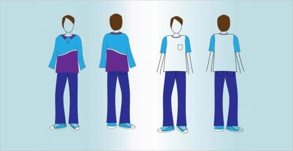 t shirt mockup vectors ai format